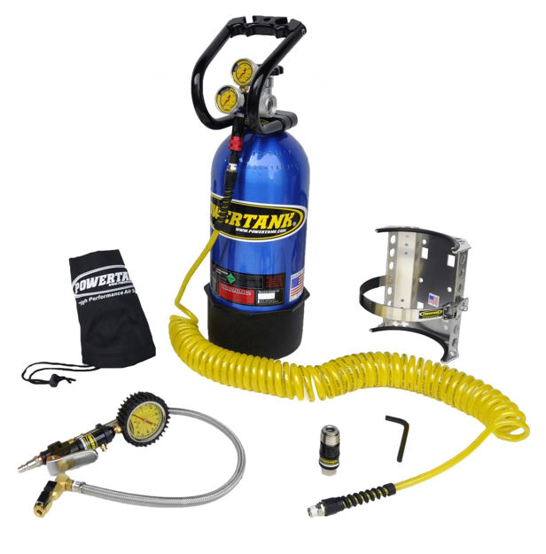 Picture of CO2 Tank 10 LB 250 PSI Package B System W/Power Flow II