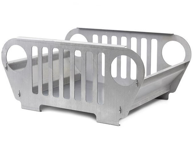 Picture of Jeep Grill Fire Pit Small Steel Bare GenRight