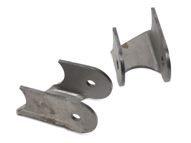 Picture of Jeep Lower Control Arm Brackets 30 Degree 76-06 Jeep TJ, LJ, YJ, CJ Front Or Rear Steel Bare Pair GenRight